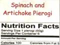 spinach & artichoke pierogi