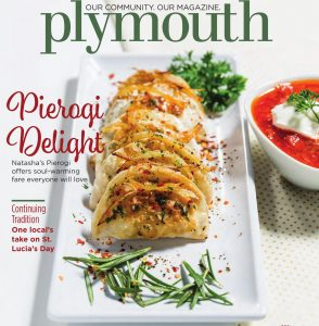 Plymouth Magazine December Issue cover